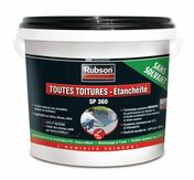 Etanchéïté liquide pour toitures plates et inclinées SP360 RUBSON noir 1kg - Etanchéité de couverture - Matériaux & Construction - GEDIMAT