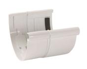Jonction de dilatation pour gouttière PVC demi-ronde LG33 coloris blanc - Réduction laiton brut mâle femelle à butée extérieure diam.ext.20x27mm diam.int.12x17mm 1 pièce - Gedimat.fr