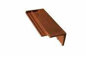 Demi-tuile de rive droite FONTENELLE coloris rouge vieilli - Bois Massif Abouté (BMA) Sapin/Epicéa traitement Classe 2 section 60x140 long.12,50m - Gedimat.fr