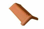 Faîtière angulaire MARSEILLE de 40 angle 120° coloris rouge - Poutre VULCAIN section 25x45 cm long.5,00m pour portée utile de 4,1 à 4,60m - Gedimat.fr