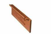 Tuile de rive à rabat droite GALLO-ROMANE rouge - GL032 - Rives - Faîtages - Couverture & Bardage - GEDIMAT