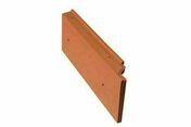 Tuile de rive à rabat gauche GALLO-ROMANE rouge - GL031 - Rives - Faîtages - Couverture & Bardage - GEDIMAT