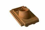 Tuile à douille CHARTREUSE/REGENCE diam.90 mm coloris brun masse - Tuiles et Accessoires - Couverture & Bardage - GEDIMAT