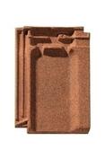 Tuile CHARTREUSE en terre cuite coloris brun masse - Brosse plate bi matière spécial acryl fibres soies manche bi matière n°65 larg.65mm - Gedimat.fr
