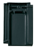 Tuile CHARTREUSE en terre cuite coloris noir - Tuiles et Accessoires - Couverture & Bardage - GEDIMAT