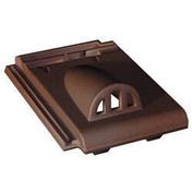 Tuile châtière grillagée en terre cuite coloris brun masse - Doublage isolant plâtre + polystyrène PREGYSTYRENE TH38 PV ép.10+20mm larg.1,20m long.2,60m - Gedimat.fr
