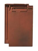 Tuile terre cuite SIGNY coloris chaume vieilli - Kit profilés latéraux traverse basse UK08 - Gedimat.fr