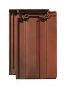 Tuile en terre cuite BELMONT coloris rouge vieilli - Poutrelle en béton LEADER 146 haut.14cm larg.10cm long.6,60m - Gedimat.fr