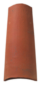 Tuile en terre cuite CANAL MIDI PATINEE coloris ambre - Bois Massif Abouté (BMA) Sapin/Epicéa non traité section 80x220 long.8,50m - Gedimat.fr
