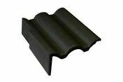 Tuile de rive gauche universelle PLEIN CIEL coloris muscade - Bloc béton creux B40 NF ép.20cm haut.20cm long.50cm - Gedimat.fr