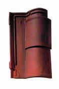 Rive à rabat gauche OCCITANE rouge vieilli - UT031 - Rives - Faîtages - Couverture & Bardage - GEDIMAT