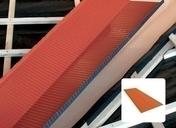 Noue en aluminium recouverte de laque VARIO 7 long.1,6m larg.64cm coloris rouge brun r�versible - Etanch�it� de couverture - Mat�riaux & Construction - GEDIMAT