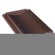 Tuile terre cuite FRANCHE-COMTE coloris rouge - Chapeau de cheminée béton ASP VENTYL int.30x30cm ext.54x54cm - Gedimat.fr