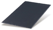 Ardoise KERGOAT 60x30 coloris anthracite - Store d'occultation optimale bleu DKL CK02 1100S - Gedimat.fr