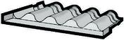 Raccord MAWA en zinc pour plaque sous tuile NATURA - Plaques de couverture - Couverture & Bardage - GEDIMAT