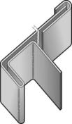 Profil latéral + raccord en aluminium pour bardage CEDRAL - OPERAL long.3,00m coloris blanc everest - GEDIMAT - Matériaux de construction - Bricolage - Décoration