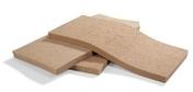 Panneau de fibre de bois STEICOFLEX F ép.80mm larg.575mm long.1,22m - Feuille de stratifié HPL avec Overlay ép.0.8mm larg.1,30m long.3,05m décor Wengue finition Velours bois poncé - Gedimat.fr