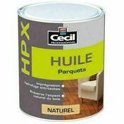 Huile parquet HPX naturel  - pot 1l - Produits de finition bois - Aménagements extérieurs - GEDIMAT