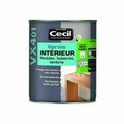 Vernis intérieur VX401 incolore satiné  - pot 0,5l - Produits de finition bois - Aménagements extérieurs - GEDIMAT
