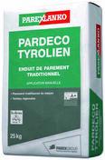 Enduit de finition PARDECO TYROLIEN J39 sable d'athènes - sac de 25kg - Gedimat.fr