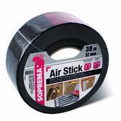 Ruban adhésif AIR'STICK - 30mx57mm - Platines de mise à niveau - Gedimat.fr