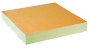 Isolant mousse polyuréthane sous étanchéité EFIGREEN DUO dim.60x60cm ép.80mm - Panneau polystyrène expansé bords droits THERM-MUR TH38 ép.100mm larg.1,20m long.2,60m - Gedimat.fr