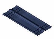 Plaque SOPRAPLAC FAITIERE noir - 1x0,49m - Panneaux de toitures - Couverture & Bardage - GEDIMAT