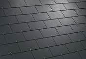 Ardoise fibre-ciment DOLMEN DOLMENép.4mm long.40cm larg.40cm coloris noir - Ardoises et Accessoires - Couverture & Bardage - GEDIMAT