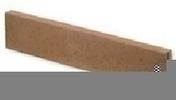 Bordure droite Mambo ép.6cm dim.100x20cm coloris brun - Bordures de jardin - Aménagements extérieurs - GEDIMAT
