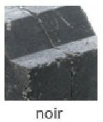 Bordure pavé tambourinée Mambo dim.20x10cm (10x15) coloris noir - Bordures de jardin - Matériaux & Construction - GEDIMAT