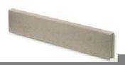 Bordure droite Mambo ép.6cm dim.100x20cm coloris gris - Suspente LEADER assemblée en acier zingué pour EMS long.5,40cm haut.4,80cm cartons de 50 pièces - Gedimat.fr