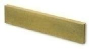 Bordure droite Mambo ép.6cm dim.100x20cm coloris jaune sable - Carrelage pour mur en faïence WALL GLOSSY larg.25cm long.46 cm coloris white - Gedimat.fr