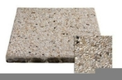 Dalle en silex Rumba �p.5cm dim.50x50cm coloris blanc - Pav�s - Dallages - Mat�riaux & Construction - GEDIMAT