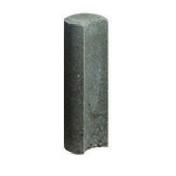 Palissade ronde Mambo dim.11x60cm avec encoche coloris gris - GEDIMAT - Matériaux de construction - Bricolage - Décoration