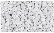 Gravier décoratif en pierre naturelle CARRARA concassé 9-12mm sac de 25 kg coloris marbre blanc - Sables - Graviers - Galets décoratifs - Revêtement Sols & Murs - GEDIMAT