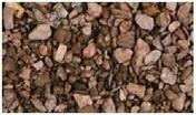 Gravillons Porphyre rouge granulométrie 6/10mm sac de 25kg - Sables - Graviers - Galets décoratifs - Revêtement Sols & Murs - GEDIMAT