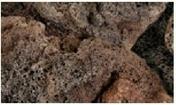 Gravier décoratif ROCHE DE LAVE 10-20cm sac de 8 kg - Sables - Graviers - Galets décoratifs - Revêtement Sols & Murs - GEDIMAT