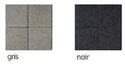 Pavé en béton ép.7cm dim.22x11cm coloris noir - Pavé vieilli MEDIEVAL en pierre reconstituée ép.6cm dim.12x12cm coloris anthracite - Gedimat.fr