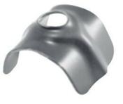 Cavalier en acier galvanisé prélaqué NERVOVAL fixation en sommet d'onde gris silex RAL 7032 boîte de 100 pièces - Bois Massif Abouté (BMA) Sapin/Epicéa traitement Classe 2 section 60x140 long.11,50m - Gedimat.fr