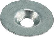 Rondelle cuvette en acier galvanisé CALIBEL diam.ext.25mm pour vis de 6mm - 100 pièces boîte de 100 pièces - Boulons - Ecrous - Rondelles - Quincaillerie - GEDIMAT