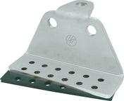Ancrage de sécurité en acier inoxydable RENOV-SECURIT T2 BAC laqué rouge - Anti-chute - Couverture & Bardage - GEDIMAT