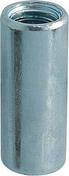 Manchon cylindrique de raccordement en acier zingué diam.int.6mm long.20mm - boite de 100 pièces - Quincaillerie de couverture et charpente - Quincaillerie - GEDIMAT
