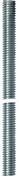 Tige filet�e en acier zingu� long.1m diam.6mm pas de 100 - Quincaillerie de couverture et charpente - Quincaillerie - GEDIMAT