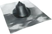 Manchon en caoutchouc VERSATUILE 2000 EPDM n°1 embase ronde en aluinium - Quincaillerie de couverture et charpente - Quincaillerie - GEDIMAT