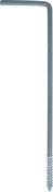 Patte de scellement pour huisserie HARPON forme 4 angle droit diam.4mm long.150mm - Quincaillerie de couverture et charpente - Quincaillerie - GEDIMAT