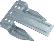 Clip en acier galva STYROFIX 45 en boite de 100 pi�ces - Quincaillerie de couverture et charpente - Quincaillerie - GEDIMAT