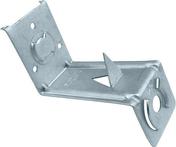 Patte d'attache en acier galvanis� Z ROCKAFIX haut.110mm - 100 pi�ces - Quincaillerie de couverture et charpente - Quincaillerie - GEDIMAT