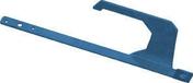 Crochet permanent de sécurité individuelle en acier galvanisé SECURIT 2005 DROIT laqué ardoise RAL 5008 - Bloc béton plein B80 ép.20cm haut.20cm long.40cm - Gedimat.fr