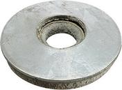 Rondelle en acier galvanisé VULCA diam.ext.16mm ép.2mm pour vis de 6,5mm - 100 pièces boîte de 100 pièces - Boulons - Ecrous - Rondelles - Quincaillerie - GEDIMAT