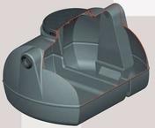 Bac dégraisseur 500L en polyéthylène - Traitements des eaux - Matériaux & Construction - GEDIMAT